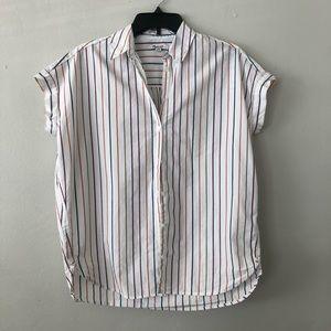 Madewell Sadie Stripe central shirt